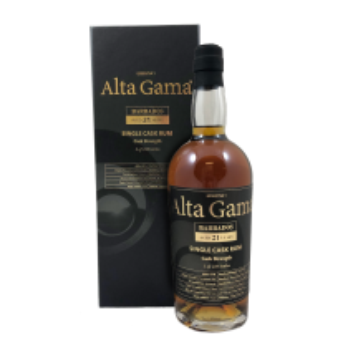 Alta Gama Barbados 21 års rom Essentia 1 Single Cask Rum