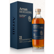The Arran 21 års Single Island Malt Whisky
