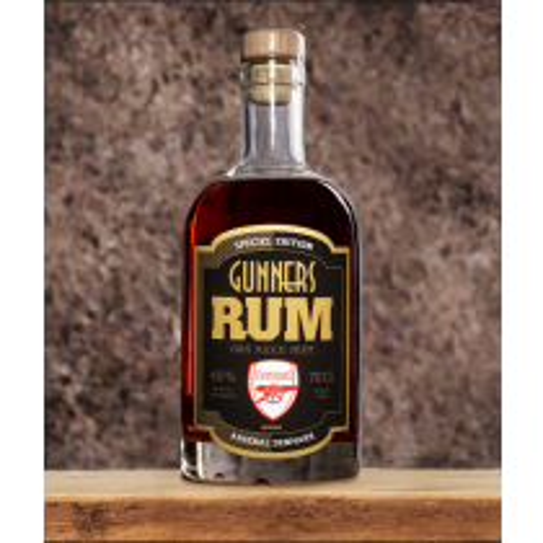 Gunners Arsenal Rum