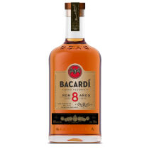Bacardi 8 år Reserva Rum 40% 70cl Rom fra Bahamas-20