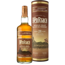 BenRiach 21 år Tawny Port Single Malt Whisky 46% 70cl-20