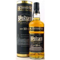BenRiach 10 år Curiositas Peated Single Malt Whisky 46% 70cl-20