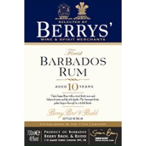 Berry Bros and Rudd Own Selection Barbados Rum 10 år 46% 70cl-20