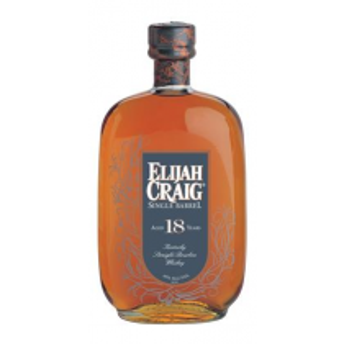 Elijah Craig SIngle Barrel Aged 18 Years Kentucky Straight Bourbon Whiskey