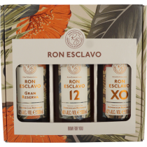Ron Esclavo 3-box gaveæske 3 x 20 cl rom