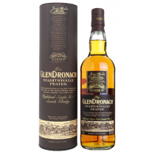 GlenDronach Traditionally Peated Highland Single Malt Scotch Whisky