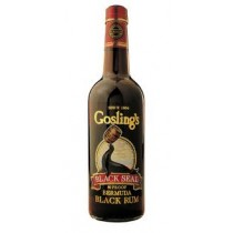 Goslings Black Seal 80 Proof Rum 40% 70cl Rom fra Bermuda-20