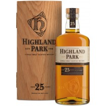 Highland Park 25 år Single Malt Whisky 45,7% 70cl i trækasse-20