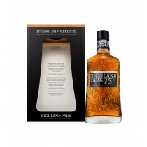 Highland Park 25 years old Single Malt Whisky Spring 2019 Release