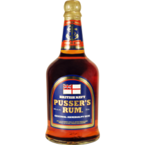 Pussers British Navy Rum Blue Label 40% 70cl Rom fra Guyana/Trinidad-20