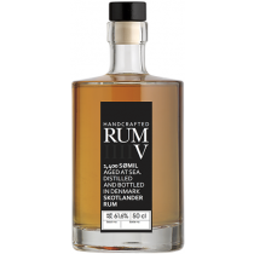 Skotlander Rum V 61,6% 50cl dansk skibsrom fra Mira-20