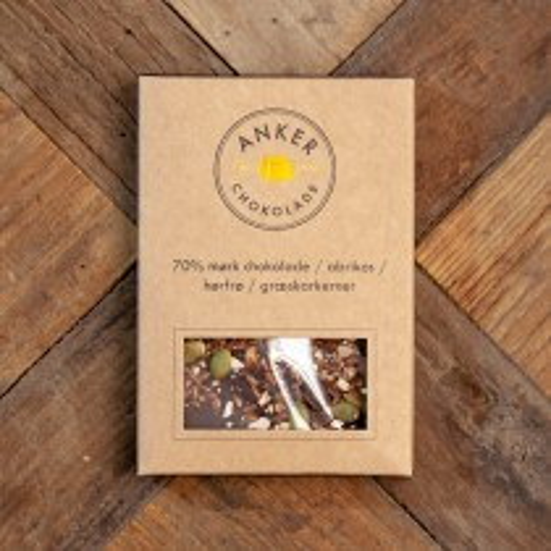Ankers chokolade - Chokolade Plade 70%