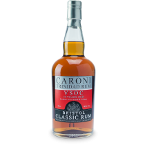Bristol Classic Caroni VSOC Rum 10 år 40% 70cl - Rom fra Trinidad