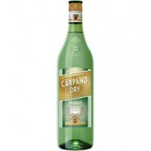 Carpano Dry Vermut / Vermouth 18% 1 liter
