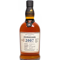 Foursquare 2007 rom Exceptional Cask Selection Rum 59%