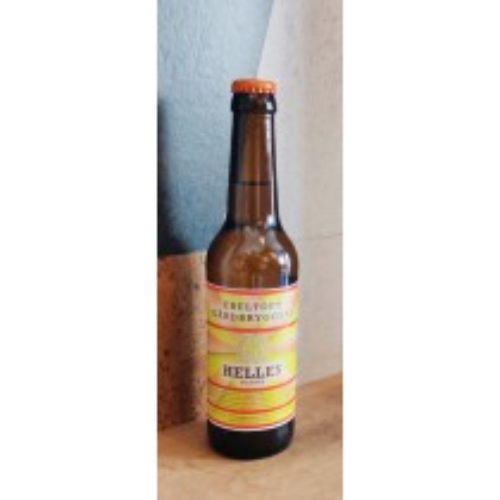 Helles 33 cl - Øl fra Ebeltoft Gårdbryggeri