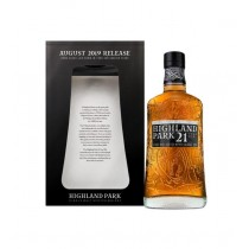 Highland Park 21 år August 2019 Release Single Malt Whisky