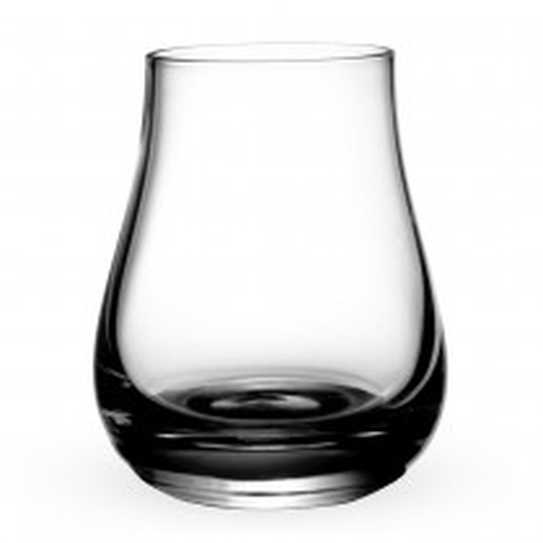 Tumbler glas til whisky, rom, cognac og anden spiritus