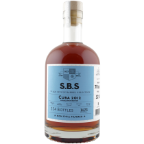 SBS Cuba 2012 Single Barrel Selection Rom 52%