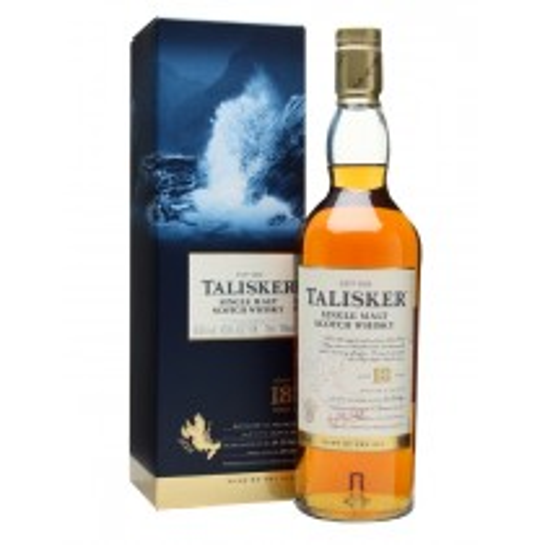Talisker 18 år Single Malt Scotch Whisky 45,8% 70cl