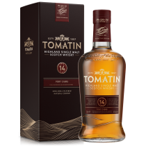 Tomatin 14 år Port Cask Finish Single Malt Highland Scotch Whisky 46% 70cl