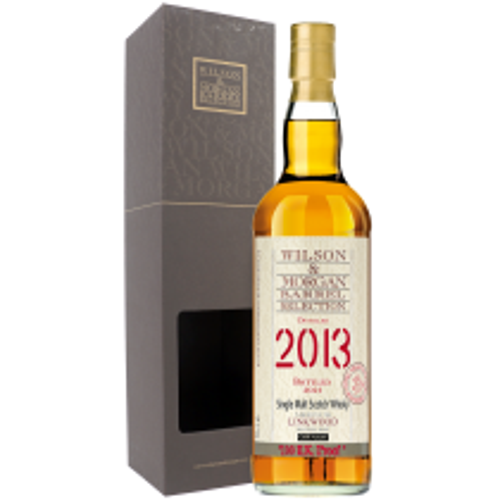 Wilson & Morgan 2013 Linkwood Single Malt Scotch Whisky 100 UK Proof